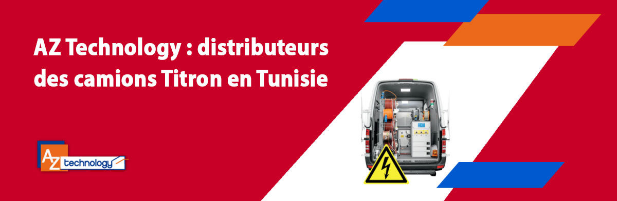 Titron en Tunisie: Les nouveaux laboratoires mobiles pour une meilleure localisation des défauts sur les câbles