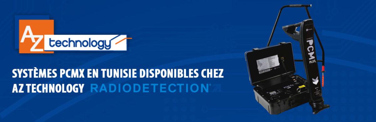 Les systèmes PCMx en Tunisie fournis par Radiodétection disponibles chez AZ Technology