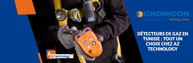 Une large palette de choix de détecteurs de gaz Tunisie chez AZ Technology