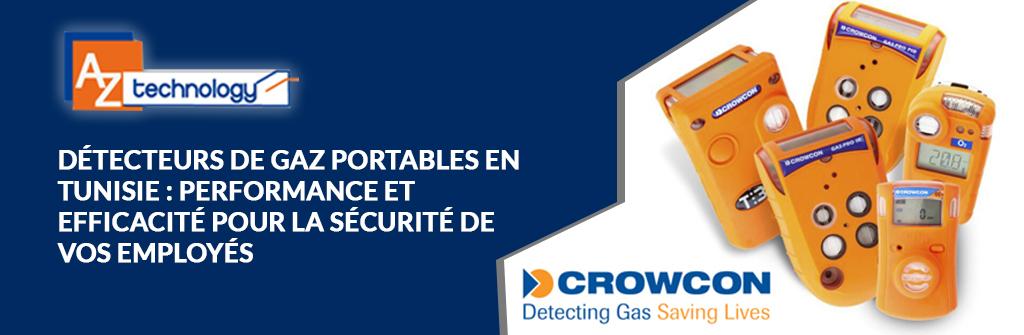 Détecteurs de gaz portable Tunisie chez AZ Technology