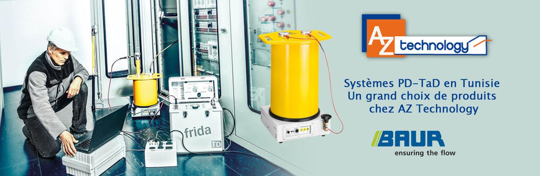 Découvrez les produits BAUR : Systèmes de détection PD-TaD en Tunisie chez AZ Technology