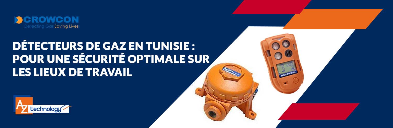 Une large palette de choix de détecteurs de gaz en Tunisie chez AZ Technology