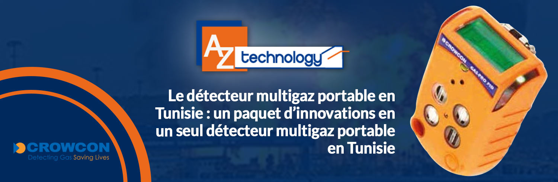 Détecteur multigaz portable en Tunisie chez AZ TECHNOLOGY