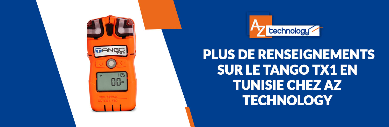 Les nouveaux détecteurs de gaz Tango TX1 en Tunisie débarquent chez AZ Technology
