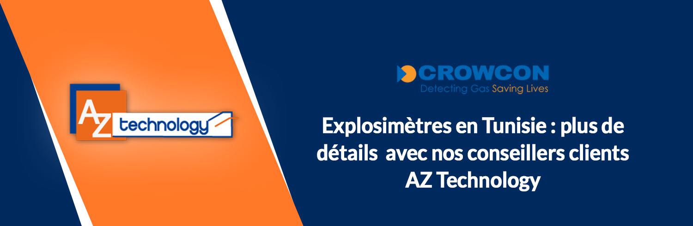Un large choix d'explosimètres en Tunisie chez AZ Technology