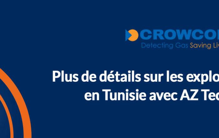 Explosimètres CH4 en Tunisie