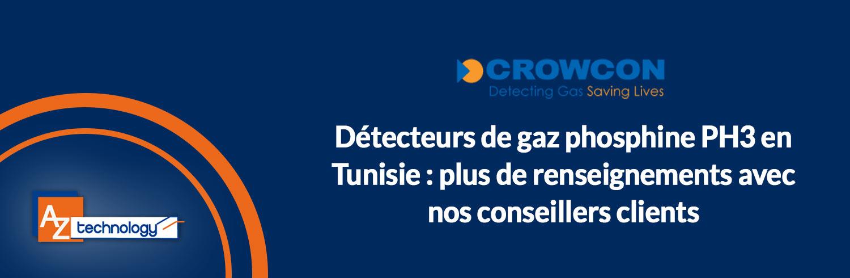 AZ Technology : Une large gamme de détecteurs de gaz phosphine PH3 en Tunisie