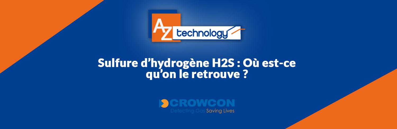 AZ Technology : Nouveaux détecteurs de gaz individuels H2S en Tunisie